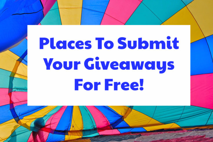 Websites Offering Sweepstakes Submissions