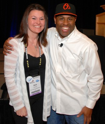 Kim Rowley and Eric Thomas