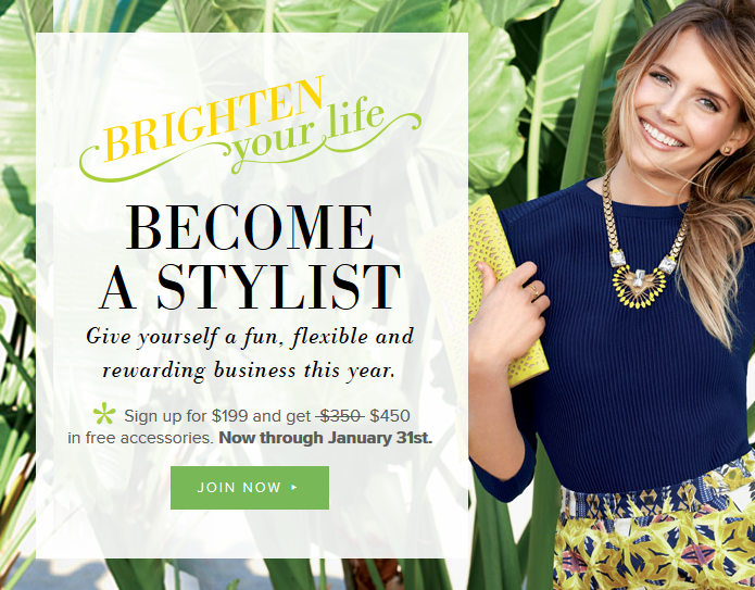 Work At Home Selling Stella & Dot Jewelry