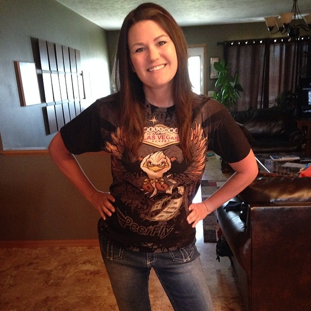 Free Shirt Friday: Kim in Peerfly Tshirt