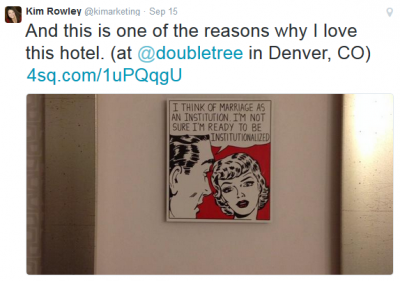 Why Never To Tweet Your Hotel Location