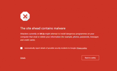 Chrome and Firefox Flagging Bit.ly Links as Malware