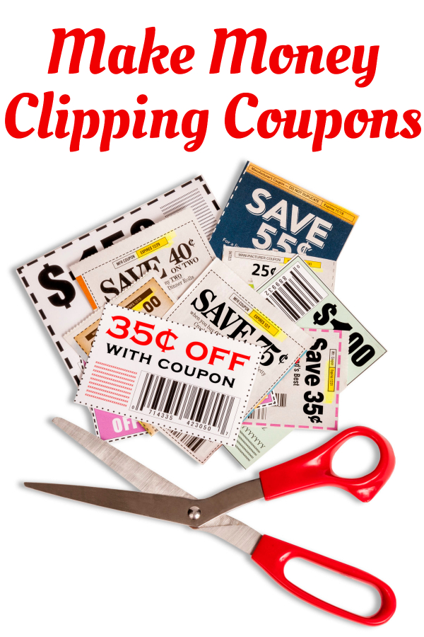 Make Money Clipping Coupons