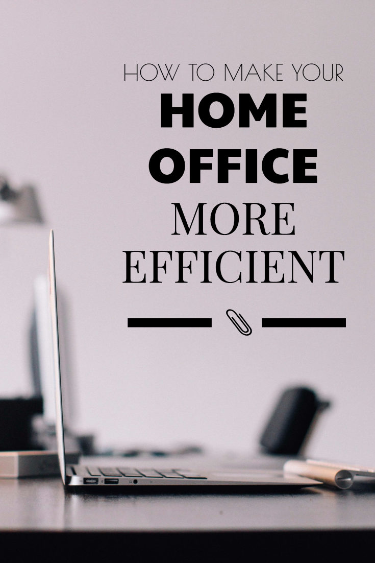 At Home Business: How to Make Your Office More Efficient