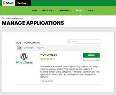 How To Set Up A WordPress Blog On GoDaddy