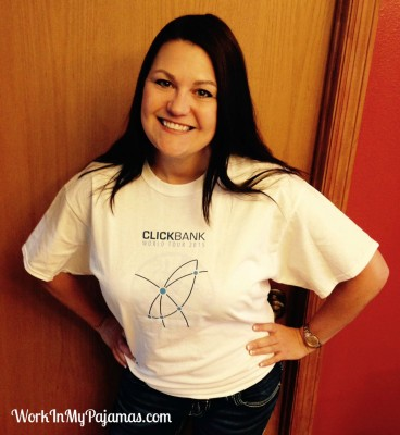 Free Shirt Friday: ClickBank World Tour 2015