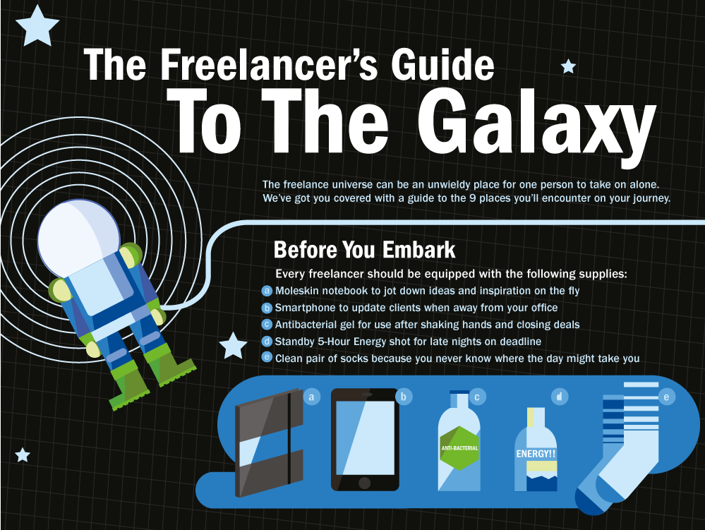 Freelancer's Guide To The Galaxy