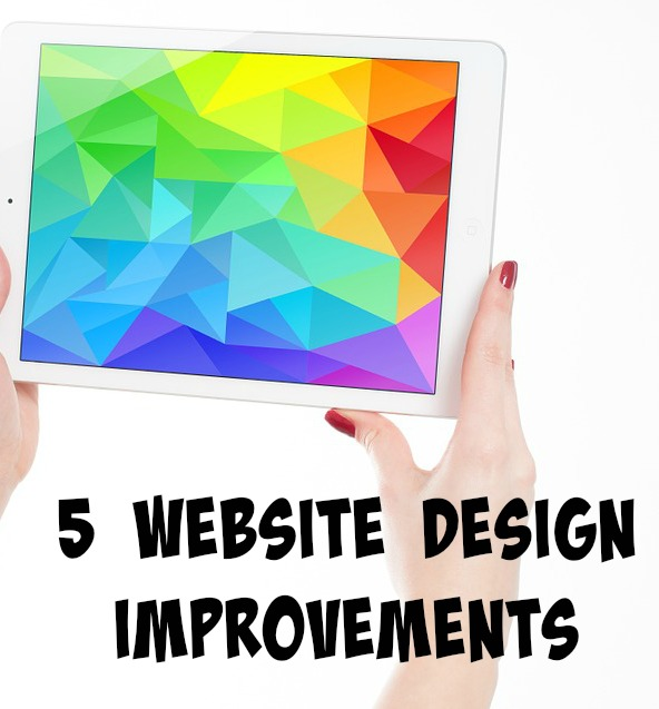 5 Website Design Improvements For 2016