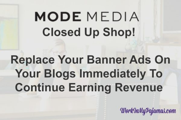 Mode Media Shuts Down: Replace Your Banner Ads With These Alternatives