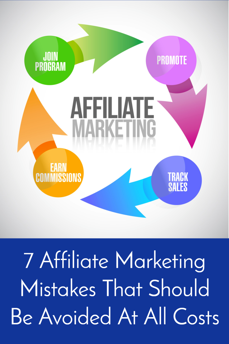 7 Affiliate Marketing Mistakes That Should be Avoided at all Costs!