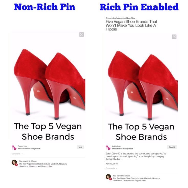 Why You Should Enable Rich Pins on Pinterest