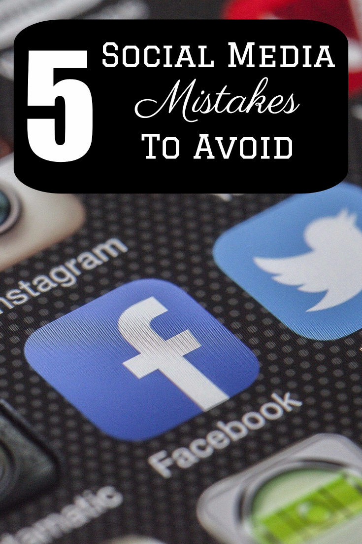 Top 5 Social Media Mistakes Your Start-up Must Avoid