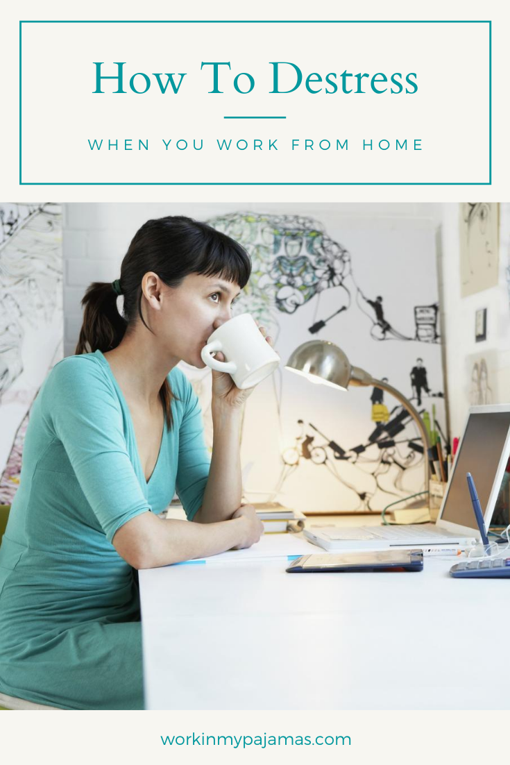 How to Destress After Working From Home